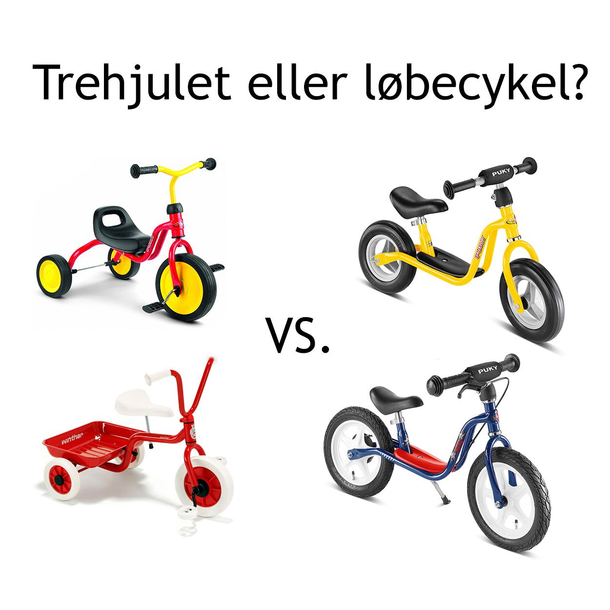 støttehjul til børnecykel